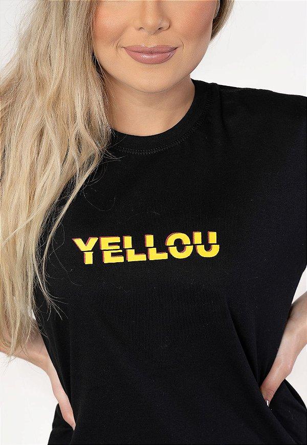 Camiseta Who Yellou? Preta