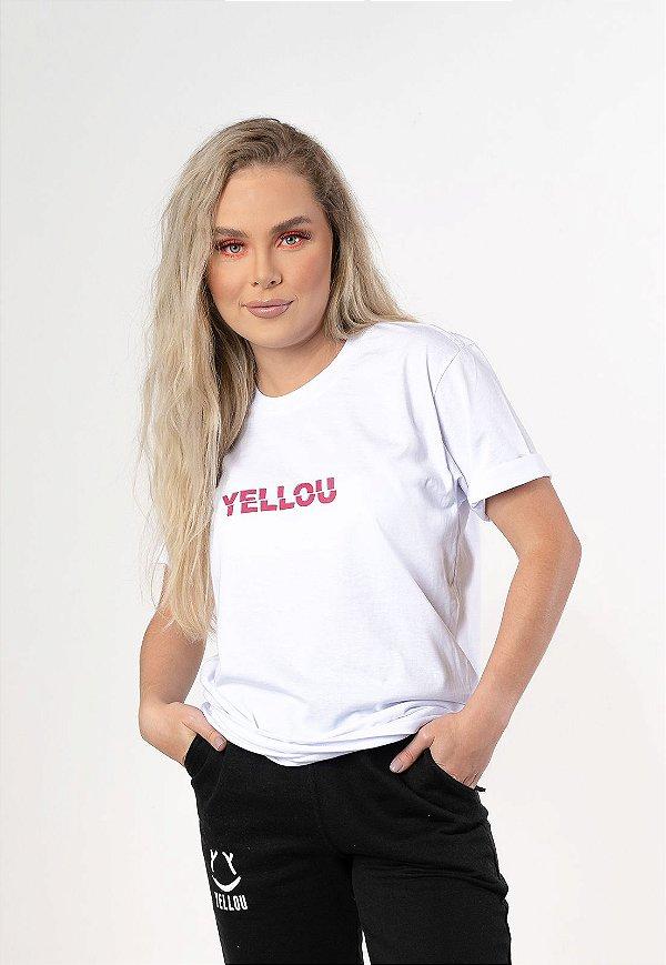 Camiseta Who Yellou? Branca