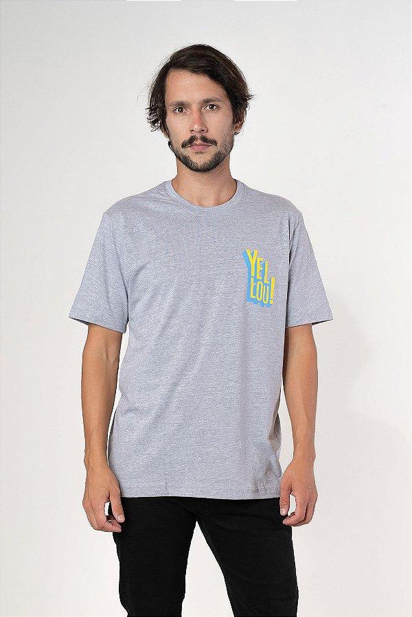 Camiseta Yellou! Cinza