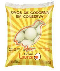 OVO DE CODORNA (em conserva 200g) - PACOTE