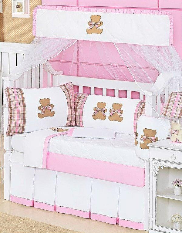 Kit Berço Urso Teddy 10 Peças