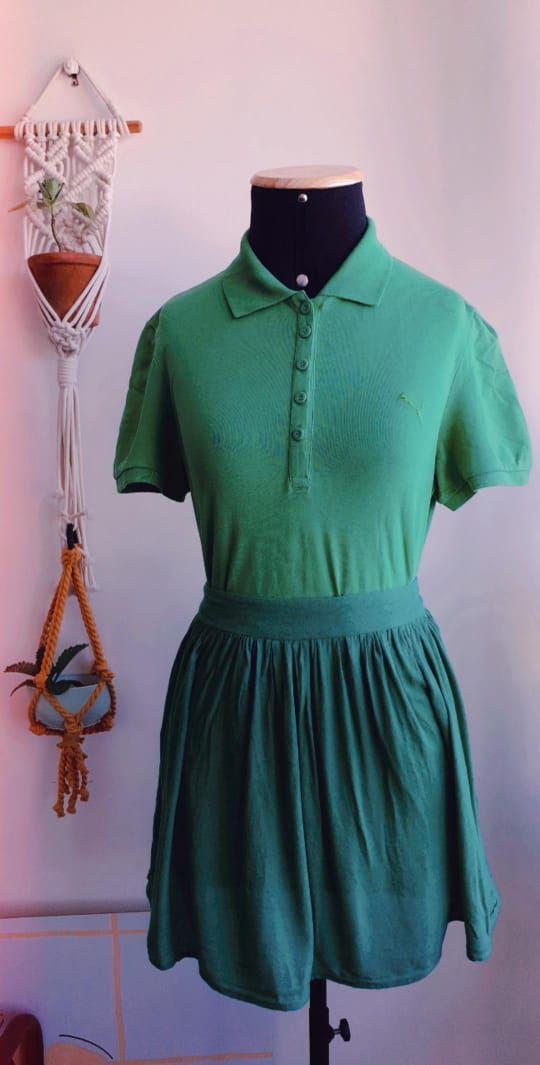 Blusa Puma Verde