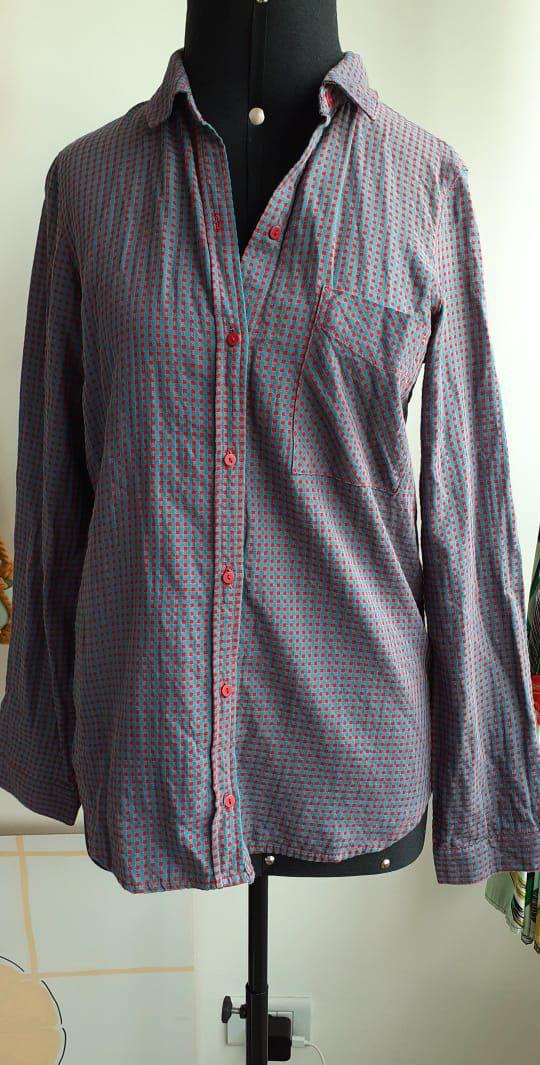Camisa Quadriculada Zara