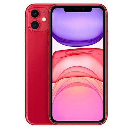 """iPhone 11 Vermelho, com Tela de 6,1"""", 4G, 64 GB e Câmera de 12 MP - MHDD3BR/A - Apple"""