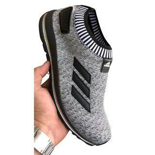 Tênis masculino Adidas meia casual fitness confortável