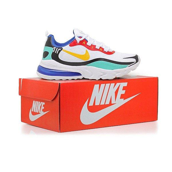 Tênis Nike Air max 270 React Esportivos Masculino Confortável