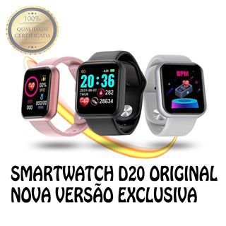 Smartwatch D20 PRO Original Versão Exclusiva Disponível