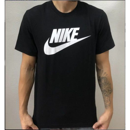 Camiseta Camisa Nike Sportswear Tee Icon Futura 100% Algodao Masculina Oferta Barata