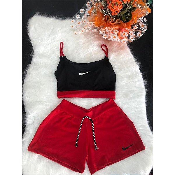 Conjuntinho Nike Feminino Academia/Corrida