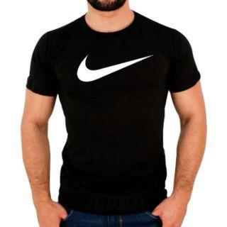 Camiseta Nike Pro Logo Grande Masculina 100% Algodao Camisa Em Promoçao