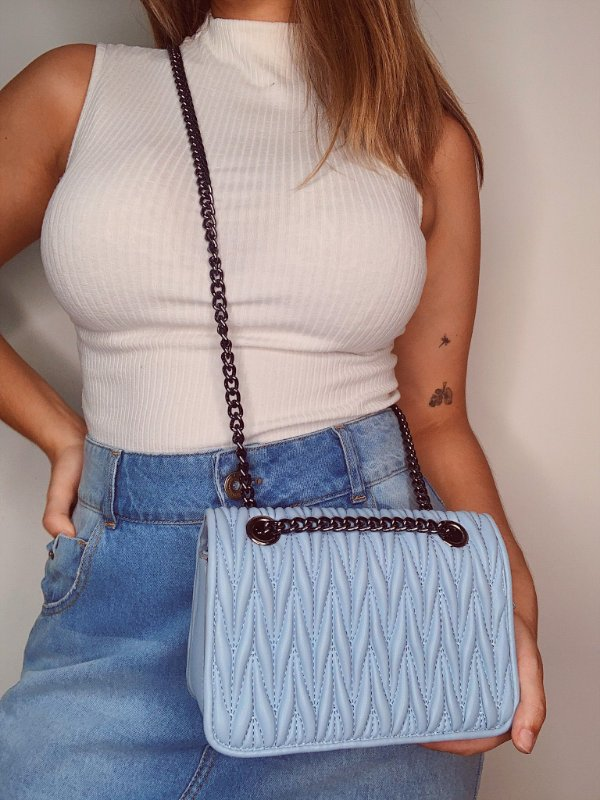Bolsa Lisa - Azul