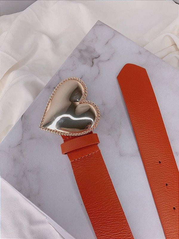 Cinto Coração - Laranja
