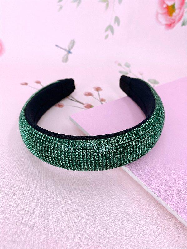 Arco Juliette strass verde