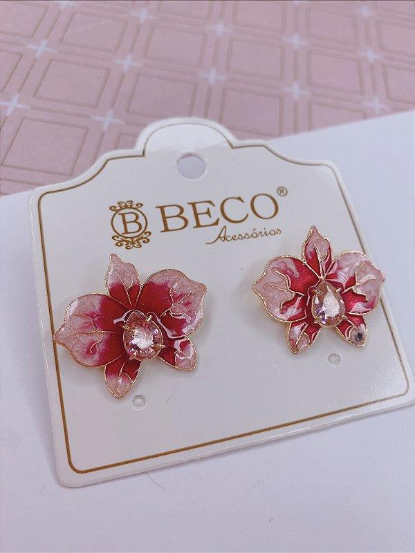 Brino Flor resina - rosa