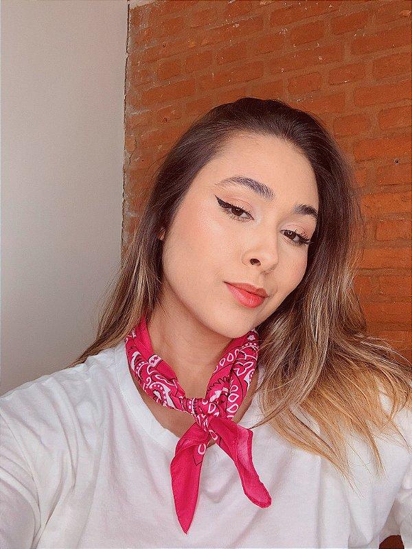 Bandana Rosa escuro
