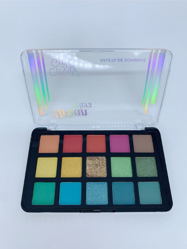 Paleta de sombras Urban colors - City Girls