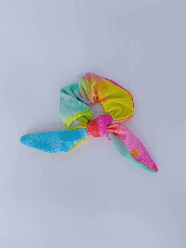 Scrunchie Tie Dye -colorida