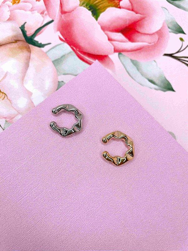 Piercing ondulado Juliette pequeno - prata, dourado ou ônix