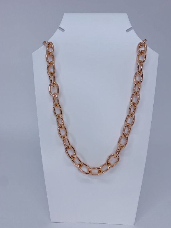 Corrente Lívia - Rosê gold