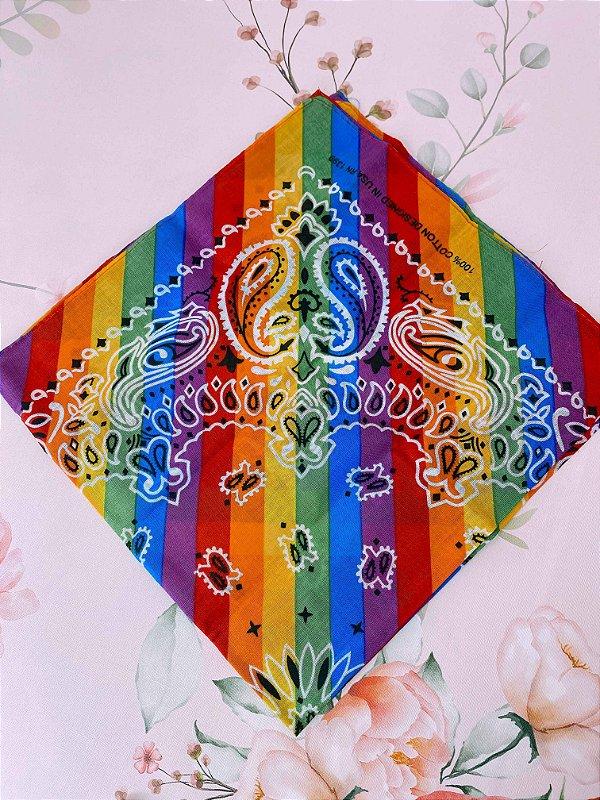 Bandana arco-íris