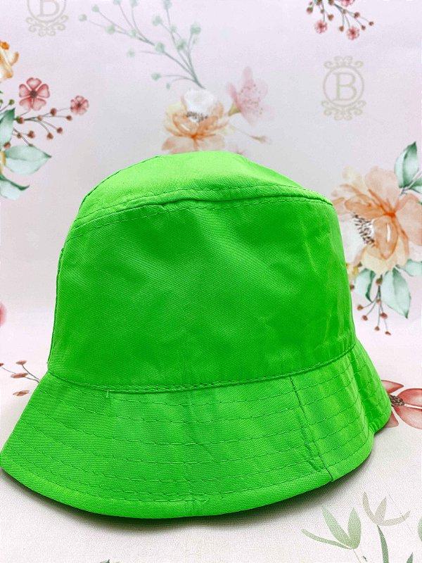 Chapéu bucket - verde