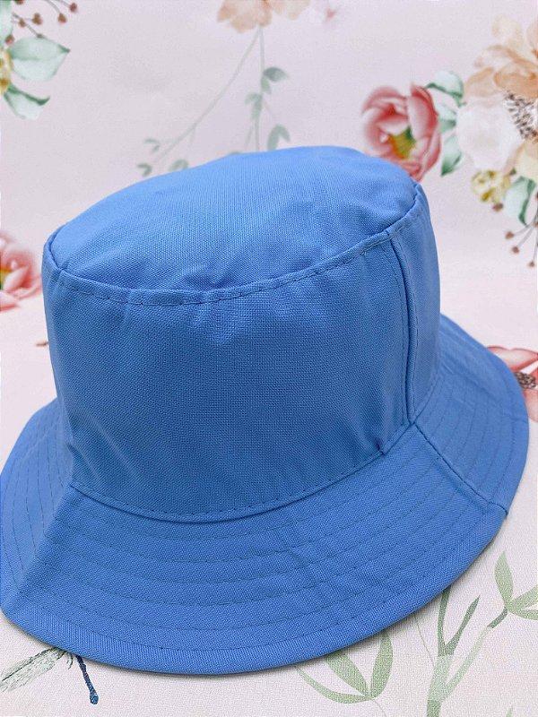 Chapéu bucket - azul