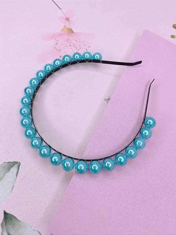 Arco com esferas azul