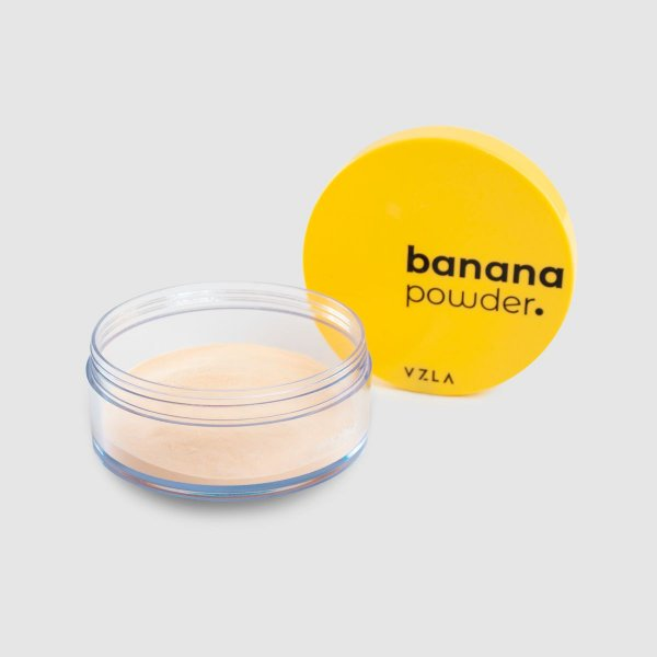 Pó translucido banana powder