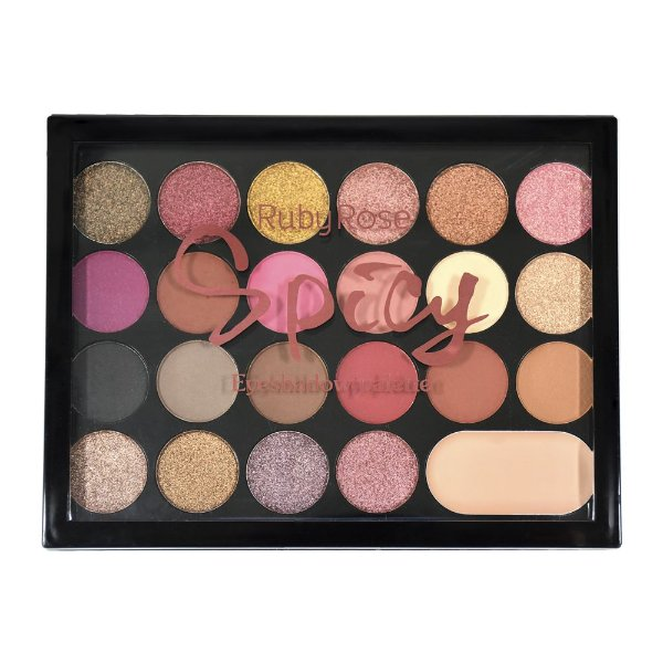 Paleta de sombras Spicy - Ruby Rose