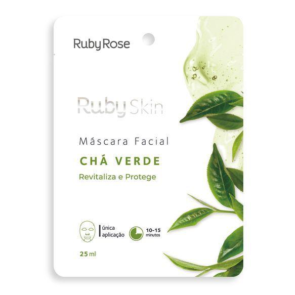 Máscara facial chá verde