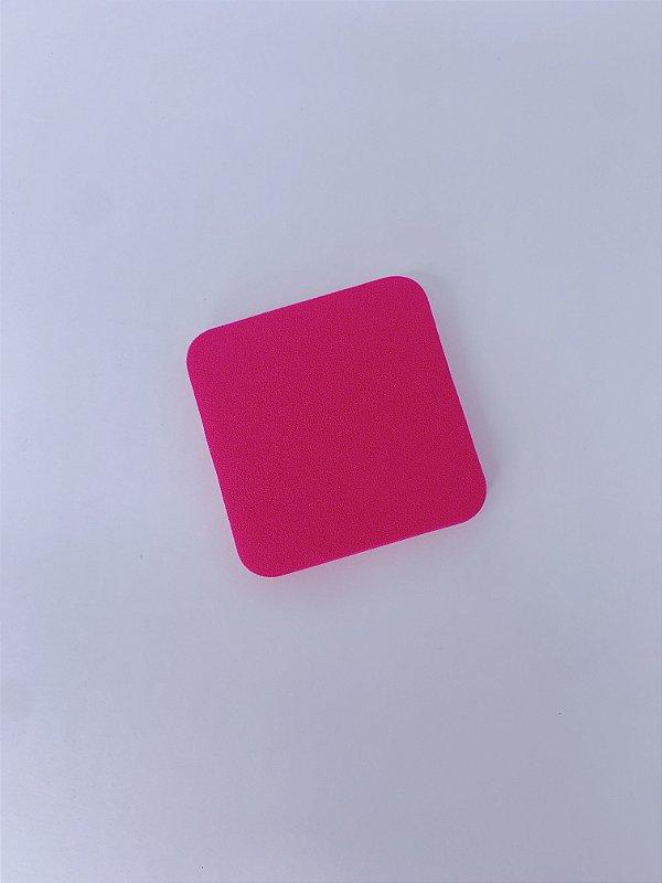 Esponja quadrada para limpeza facial