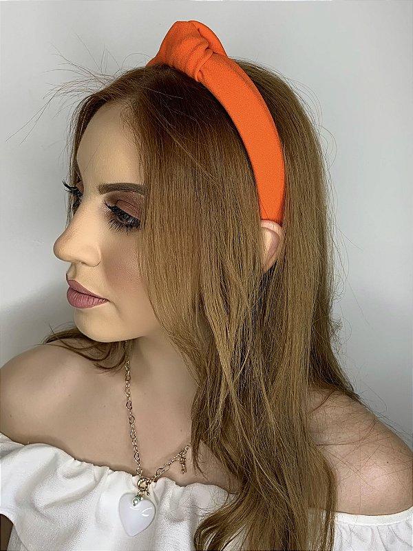 Arco nó tecido - laranja