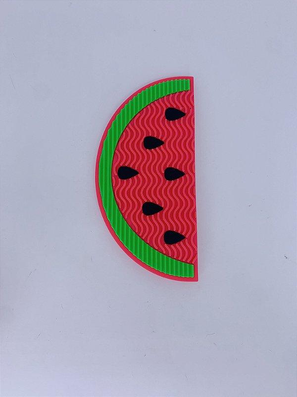 Limpador de pincel formato melancia