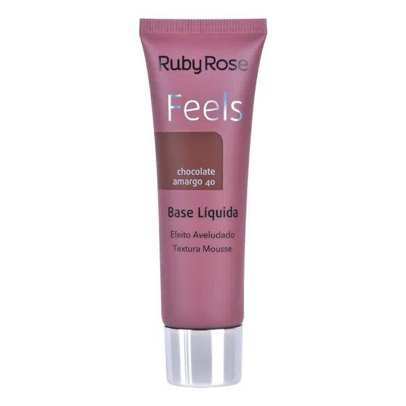 Base FEELS chocolate amargo 40-Ruby Rose