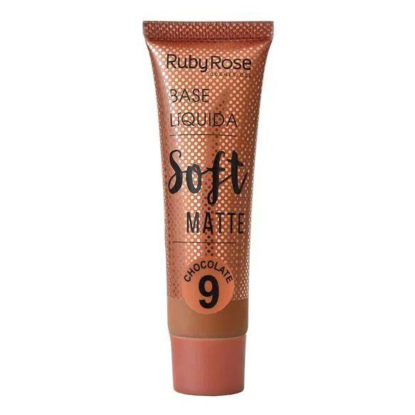 Base  SOFT MATTE chocolate 9 - Ruby Rose