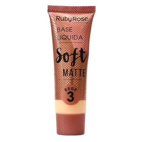 Base SOFT MATTE bege 3-Ruby Rose