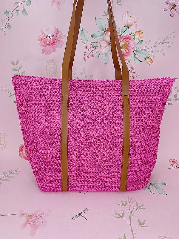 Bolsa de praia - pink
