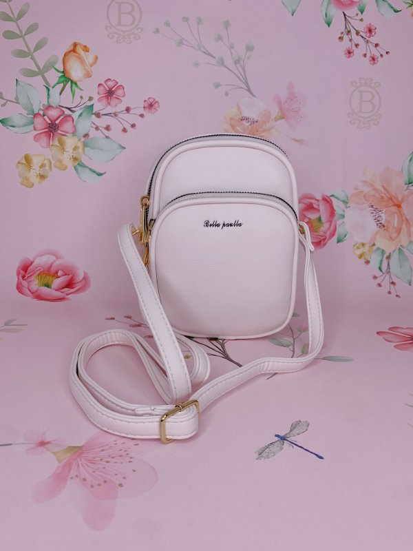 Bolsa tiracolo off white