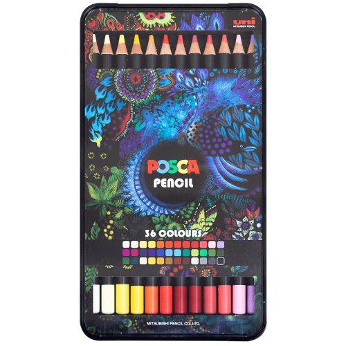Lápis de Cor POSCA c/36 cores
