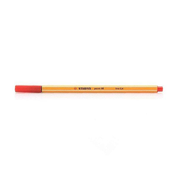 Caneta STABILO Point 88/40 Vermelha