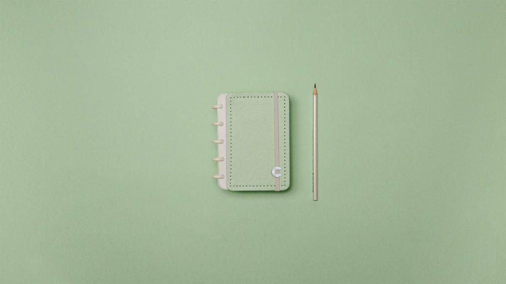 CADERNO INTELIGINE Verde Pastel