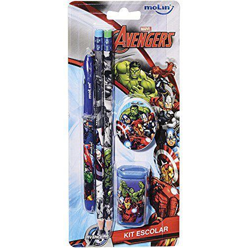 Kit Escolar Avengers MOLIN