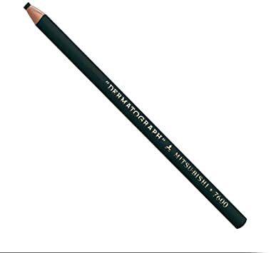 Lápis Dermatográfico Preto MITSU-BISHI