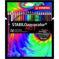 Lápis de Cor Aquacolor Arty STABILO c/24