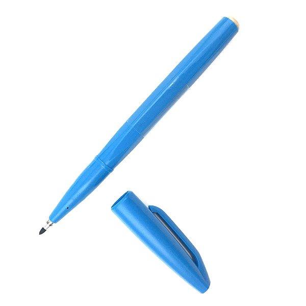 Caneta PENTEL Sign Pen Azul Claro