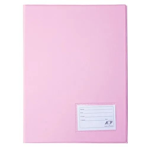 Pasta Catálogo Pvc c/20 Envelopes Rosa Pastel ACP