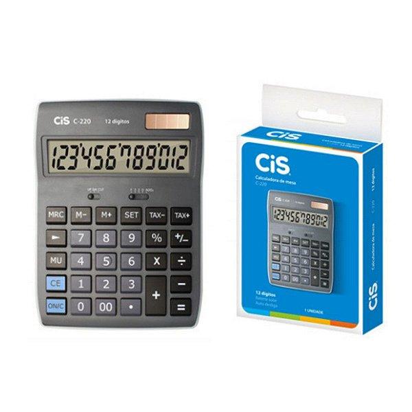 Calculadora de Mesa C-221 Cis - SERTIC