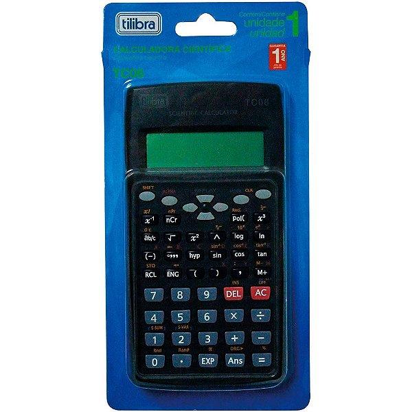 Calculadora TILIBRA Científica Preta