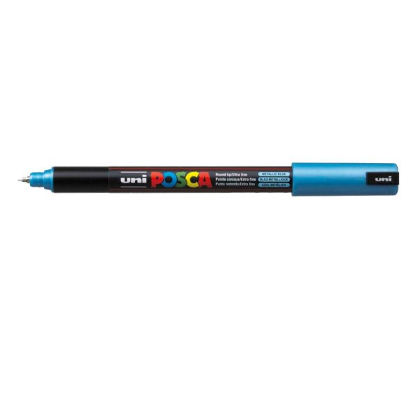 Caneta POSCA 1MR Azul Metálico
