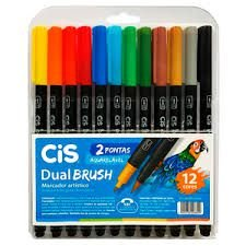 Kit CIS Dual Brush c/24 cores
